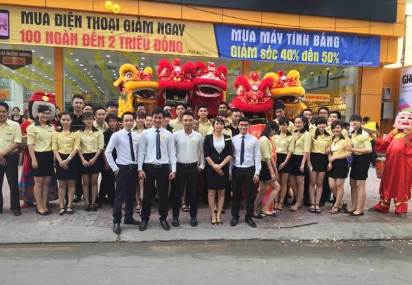 Khai trương siêu thị Cống Quỳnh, Q.1, TP.HCM