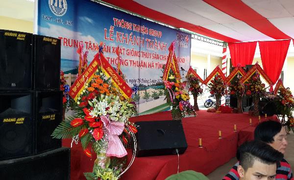 khu nuôi trồng tôm giống xuât khẩu tại Nghi Xuân Hà Tĩnh