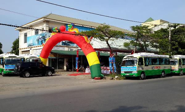 Khai trương tuyến xe bít Phương Thảo tp Vinh thị xã Thái Hòa